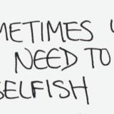 Selfish, Good or Bad?