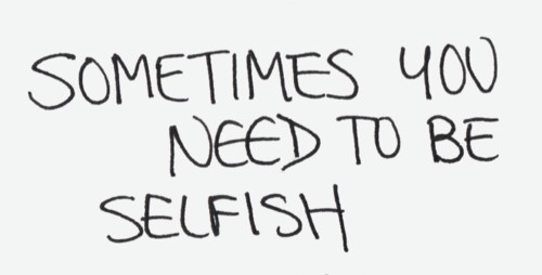 Image result for selfish