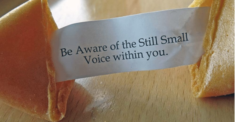 Intuition – The Still Small Voice Within