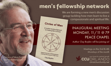 """New Beginnings"" – Men's Circle – Christ Church Unity, Orlando"